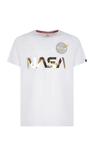 T-shirt Alpha Industries Nasa Reflective in cotone ALPHA INDUSTRIES | 8 | 178501438