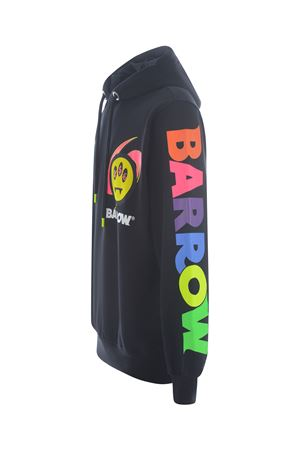 Felpa Barrow in cotone BARROW | 10000005 | 028387NERO