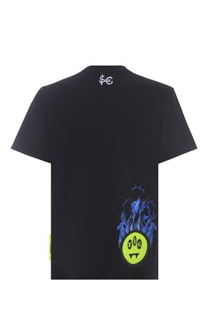 T-shirt Barrow x Sfera Ebbasta in cotone BARROW | 8 | 028393NERO