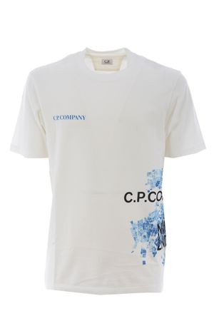T-shirt C.P. Company in cotone C.P. COMPANY | 8 | CMTS307A5621W-103