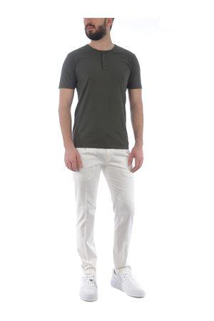 Grey Daniele Alessandrini Balsamico cotton T-shirt D.A. DANIELE ALESSANDRINI | 8 | M7485E647-133