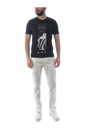 Grey Daniele Alessandrini Pop Art a Tower t-shirt in cotton D.A. DANIELE ALESSANDRINI | 8 | M7489E643-1