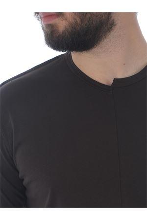 Grey Daniele Alessandrini Maggiorana cotton T-shirt D.A. DANIELE ALESSANDRINI | 8 | M7491E643-34