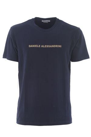Grey Daniele Alessandrini Creme Caramel T-shirt in stretch cotton D.A. DANIELE ALESSANDRINI | 8 | M9186A33-23