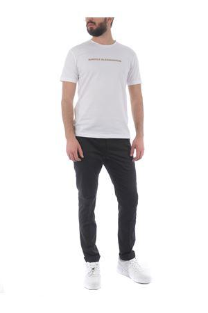 T-shirt Grey Daniele Alessandrini Creme Caramel in cotone stretch D.A. DANIELE ALESSANDRINI | 8 | M9186A33-2