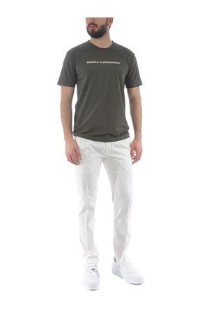T-shirt Grey Daniele Alessandrini Creme Caramel in cotone stretch D.A. DANIELE ALESSANDRINI | 8 | M9186A33-33