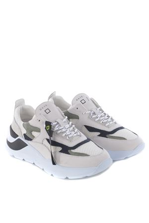 Sneakers man D.A.T.E. Fuga Mesh in nubuck and mesh DATE | 5032245 | M321-FG-MEWH