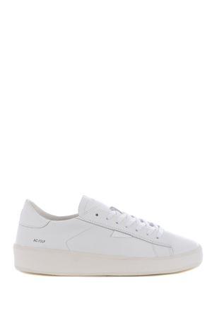 Low sneaker D.A.T.E. Ace Calf in leather DATE | 5032245 | M341-AC-CAWH