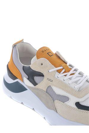 Sneakers uomo D.A.T.E. in nabuk e mesh DATE   5032245   M341-FG-MEGY