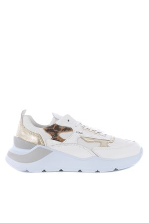 D.A.T.E. Fuga Animalier leather sneakers DATE | 5032245 | W341-FG-ANLE