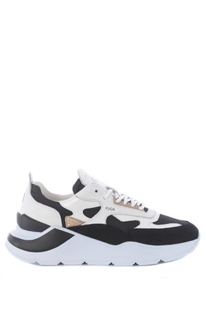 Sneaker D.A.T.E. Fuga Nylon in leather and nylon DATE | 5032245 | W341-FG-NYBK