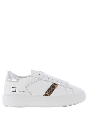 Sneaker D.A.T.E. Sfera Pony in leather DATE | 5032245 | W341-SF-PNWH