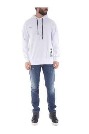 Disclaimer cotton sweatshirt DISCLAIMER | 10000005 | 50559BIANCO