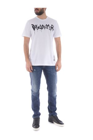 Disclaimer cotton t-shirt DISCLAIMER | 8 | 50565BIANCO