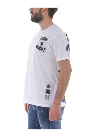 T-shirt Disclaimer in cotone DISCLAIMER | 8 | 50587BIANCO