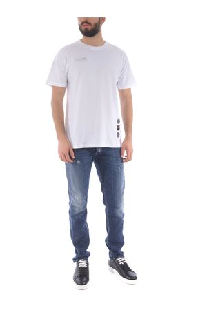 Disclaimer cotton T-shirt DISCLAIMER | 8 | 50610BIANCO-NERO