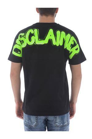 T-shirt Disclaimer in cotone DISCLAIMER | 8 | 50610NERO-GIALLO