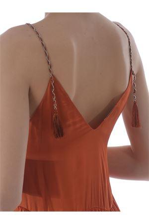 Dondup flounced dress in silk blend DONDUP | 11 | DA191RF0031XXX-207