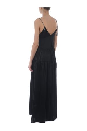 Dondup flounced dress in silk blend DONDUP | 11 | DA191RF0031XXX-999