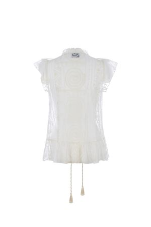 Dondup tulle top DONDUP | 40 | DC200ZF0054XXX-007