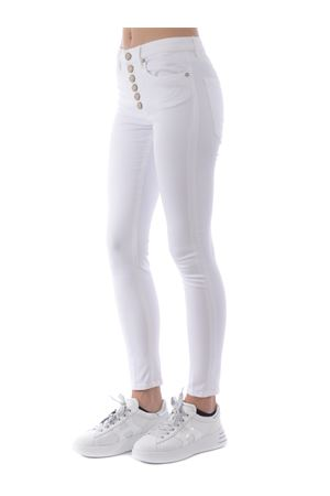 Jeans Dondup Iris Bottoniera in cotone stretch DONDUP | 9 | DP450BBS0026PTD-000