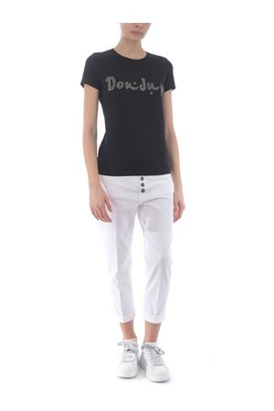 Dondup stretch cotton T-shirt DONDUP | 8 | S007JS0241BI3-999