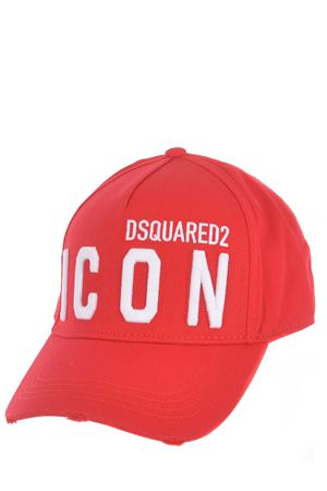 Dsquared2 Baseball Icon cotton baseball cap DSQUARED | 26 | BCM041205C00001-M818