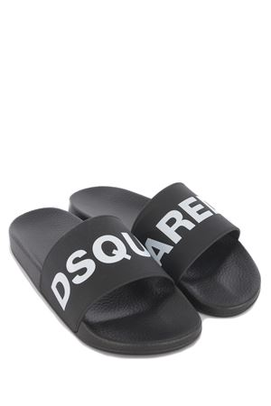 Dsquared2 Slide rubber slippers DSQUARED | 5032249 | FFM010117200001-M063