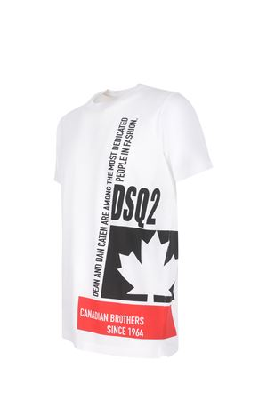 T-shirt Dsquared2 in cotone DSQUARED   8   S71GD1024S23009-100