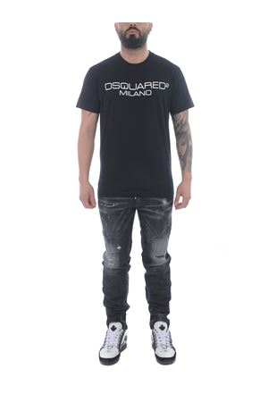T-shirt Dsquared2 in cotone DSQUARED   8   S71GD1055S22844-900