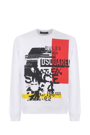Dsquared2 cotton sweatshirt DSQUARED | 10000005 | S71GU0434S25042-100