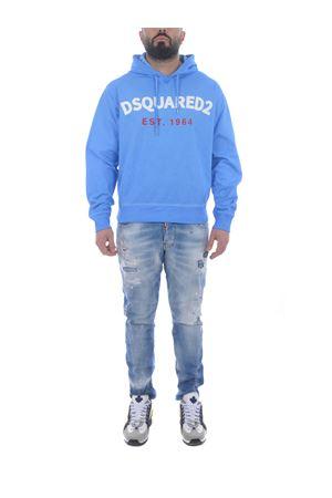 Dsquared2 cotton sweatshirt  DSQUARED | 10000005 | S71GU0442S23851-483