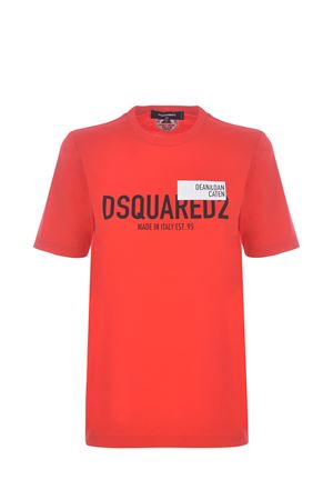 T-shirt Dsquared2 in cotone DSQUARED | 8 | S72GD0300S23009-304