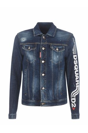 Dsquared2 stretch denim jacket DSQUARED | 13 | S74AM1151S30664-470
