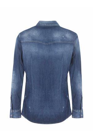 Dsquared2 stretch denim shirt DSQUARED | 6 | S74DM0506S30341-470
