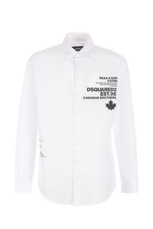 Dsquared2 cotton shirt  DSQUARED | 6 | S74DM0520S36275-100