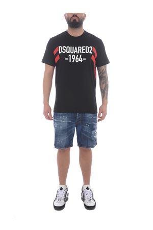 Dsquared2 cotton T-shirt  DSQUARED | 8 | S74GD0805S22427-900