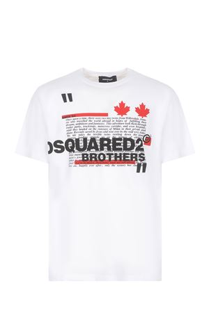 T-shirt Dsquared2 in cotone DSQUARED | 8 | S74GD0811S22427-100