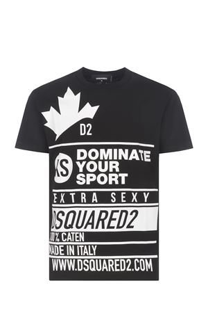 T-shirt Dsquared2 in cotone DSQUARED | 8 | S74GD0824S22427-900