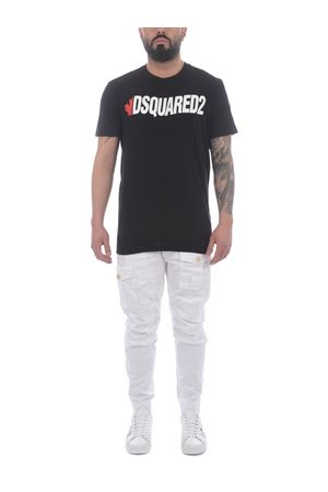 T-shirt Dsaquared2 in cotone DSQUARED | 8 | S74GD0834S21600-900