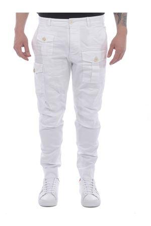 Pantaloni Dsquared2 Cargo in cotone stretch DSQUARED | 9 | S74KB0537S39021-100