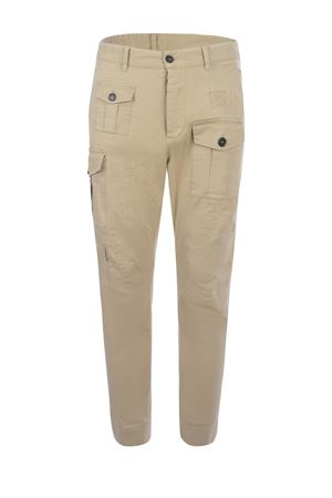Dsquared2 Cargo trousers in stretch cotton DSQUARED | 9 | S74KB0537S39021-111