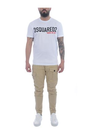 Dsquared2 Cargo trousers in stretch cotton DSQUARED   9   S74KB0537S39021-111