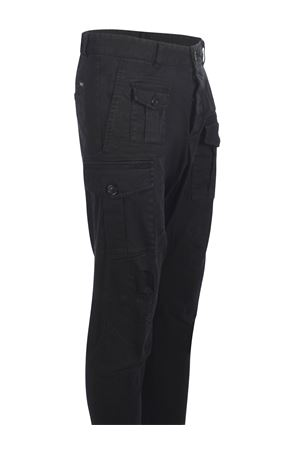 Dsquared2 Cargo trousers in stretch cotton DSQUARED | 9 | S74KB0537S39021-900