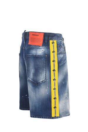 Shorts Dsquared2 in denim strech di cotone DSQUARED | 30 | S74MU0648S30342-470