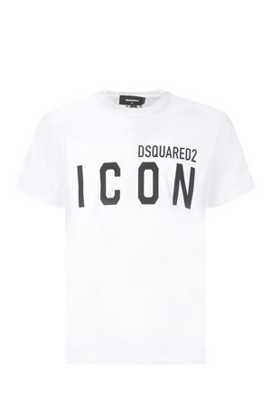 T-shirt Dsquared2 Icon in cotone DSQUARED | 8 | S79GC0003S23009-100-