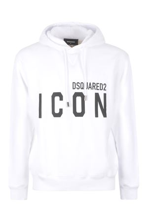 Felpa Dsquared2 Icon  in cotone DSQUARED | 10000005 | S79GU0003S25042-100