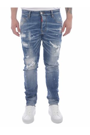 Dsquared2 Tidy Biker stretch denim jeans DSQUARED | 24 | S79LA0022S30342-470