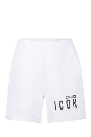 Shorts Dsquared2 Icon in cotone DSQUARED | 30 | S79MU0005S25042-100