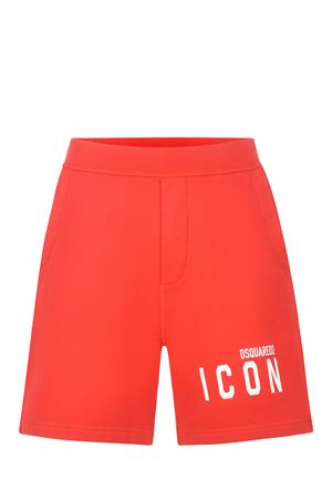 Shorts Dsquared2 Icon in cotone DSQUARED | 30 | S79MU0005S25042-312